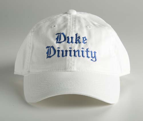 Divinity White Twill Ball Cap